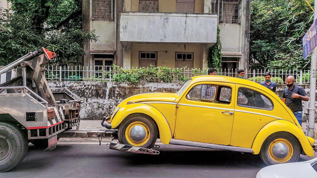 Srinivas Krishnan S VW Beetle