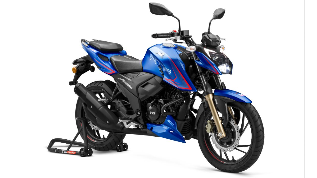 TVS Apache RTR 200 4V Single Channel ABS 2021