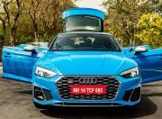 2021 Audi S5 Front View Static Doors Open
