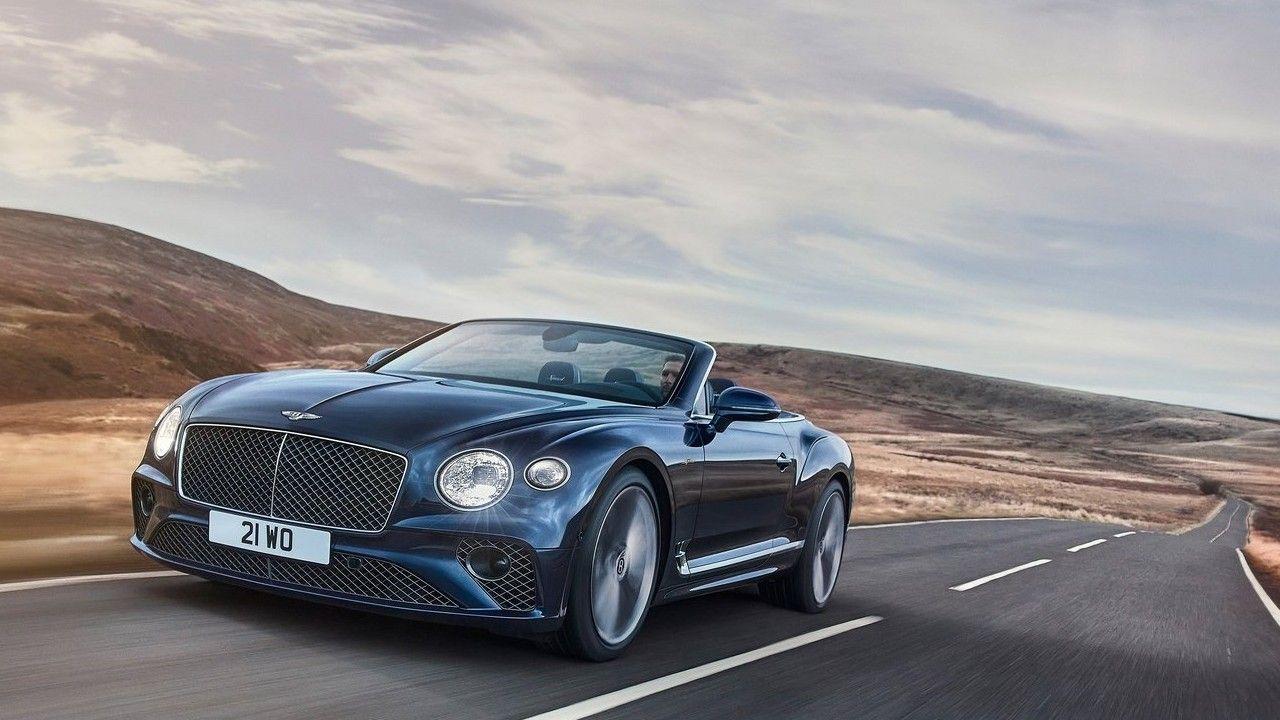 2022 Bentley Continental Gt Speed Convertible In Action