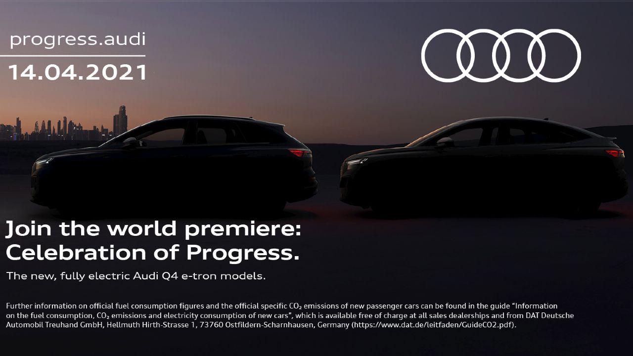 Audi Q4 Sportback E Tron