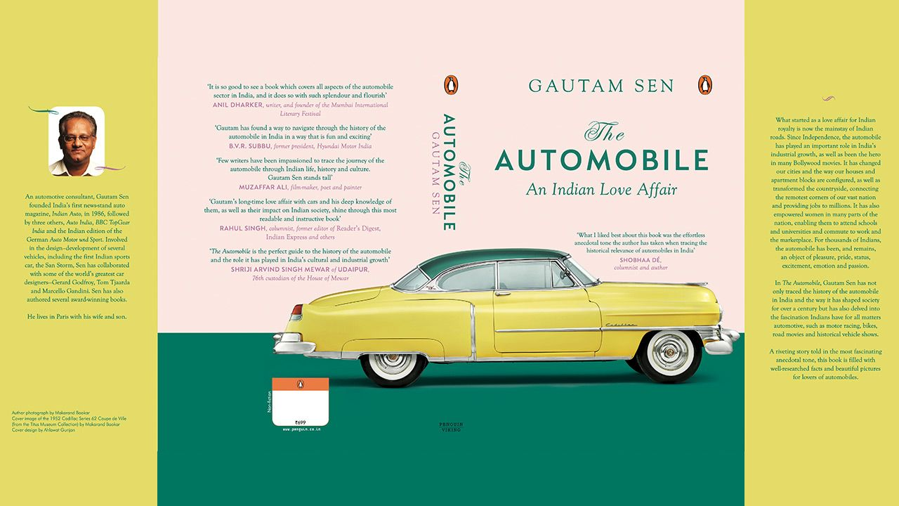 Book Cover Gautam Sen S The Automobile An Indian Love Affair