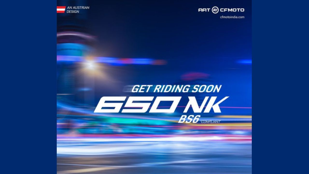 CFMoto 650NK BS6 To Be Launched Soon