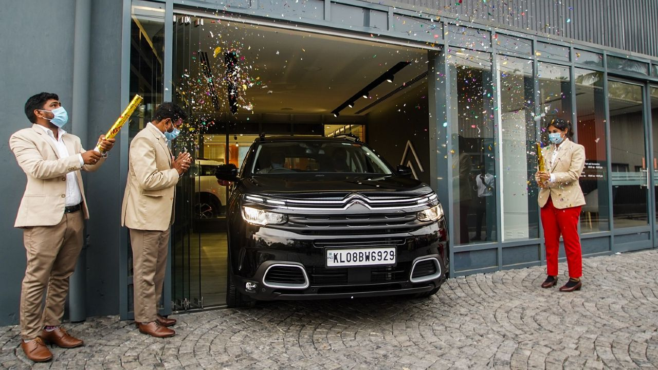Deliveries Of The Citroen C5 Aircross