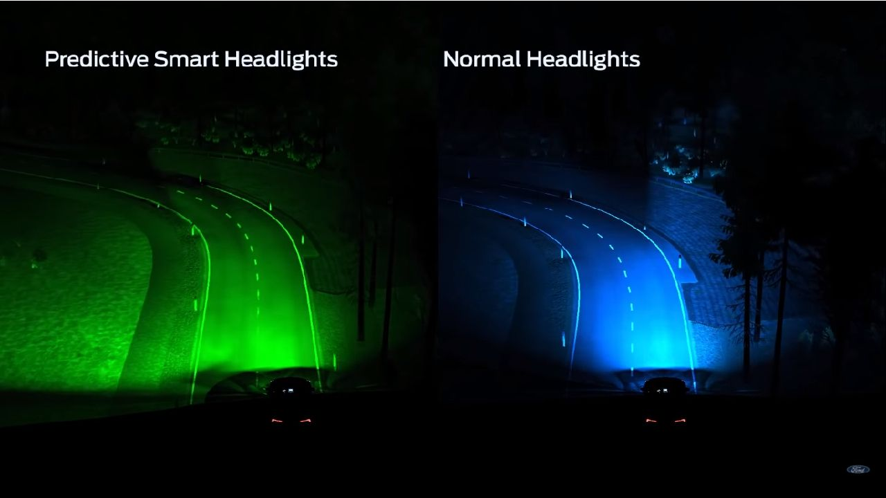 Ford Developing GPS Based Predictive Headlight System