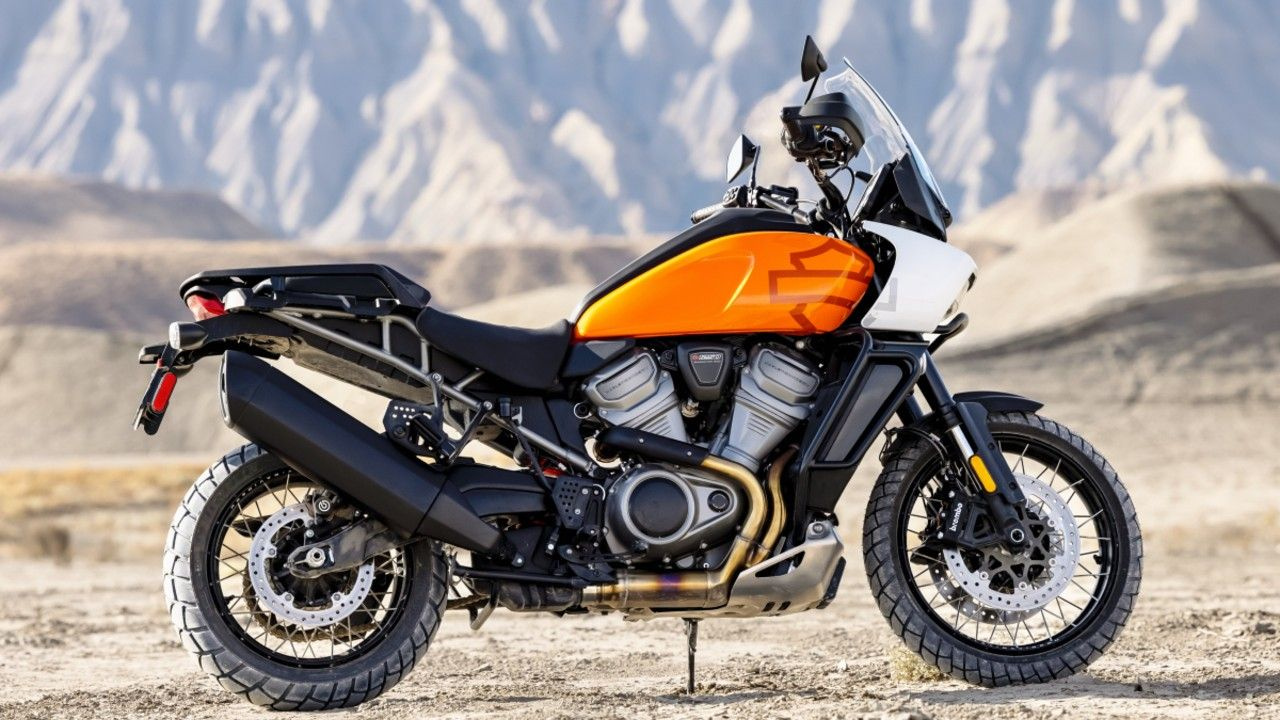 Harley Davidson Pan America India Listed On India Website