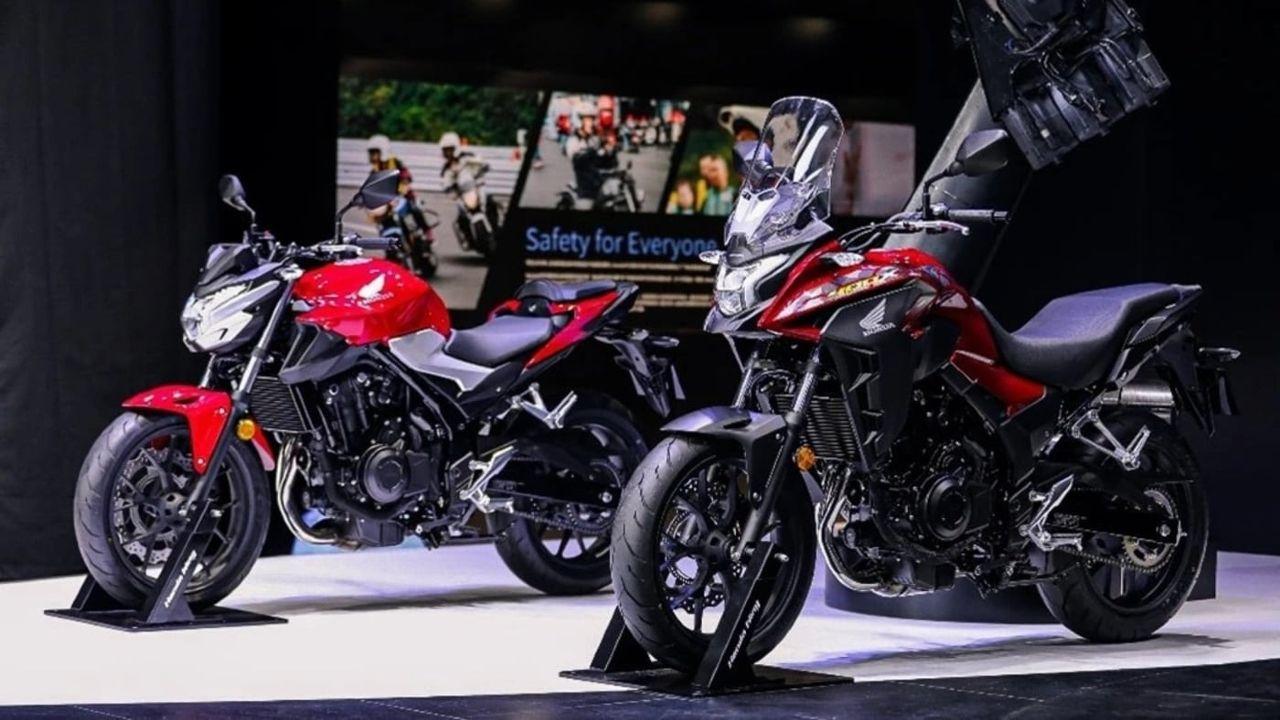 Honda CB400F And CB400X