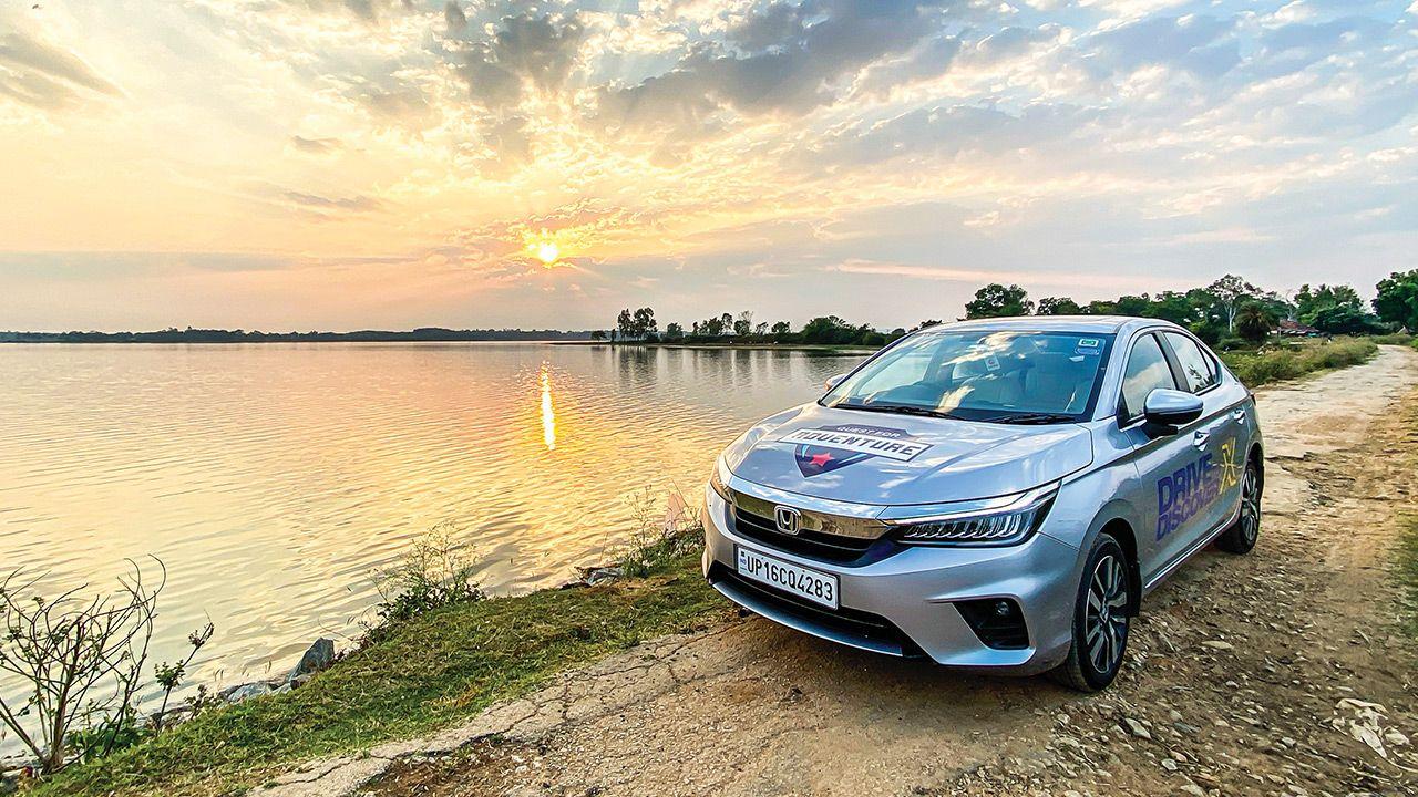 Honda Drive To Discover 2021 Honda City Sunset