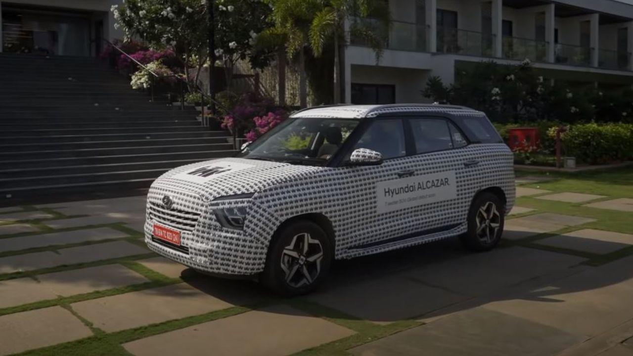 Hyundai Alcazar Camo