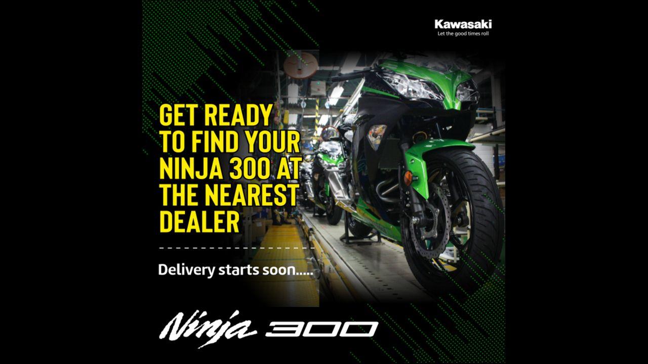 Kawasaki Ninja 300 BS6 Deliveries To Commence Soon