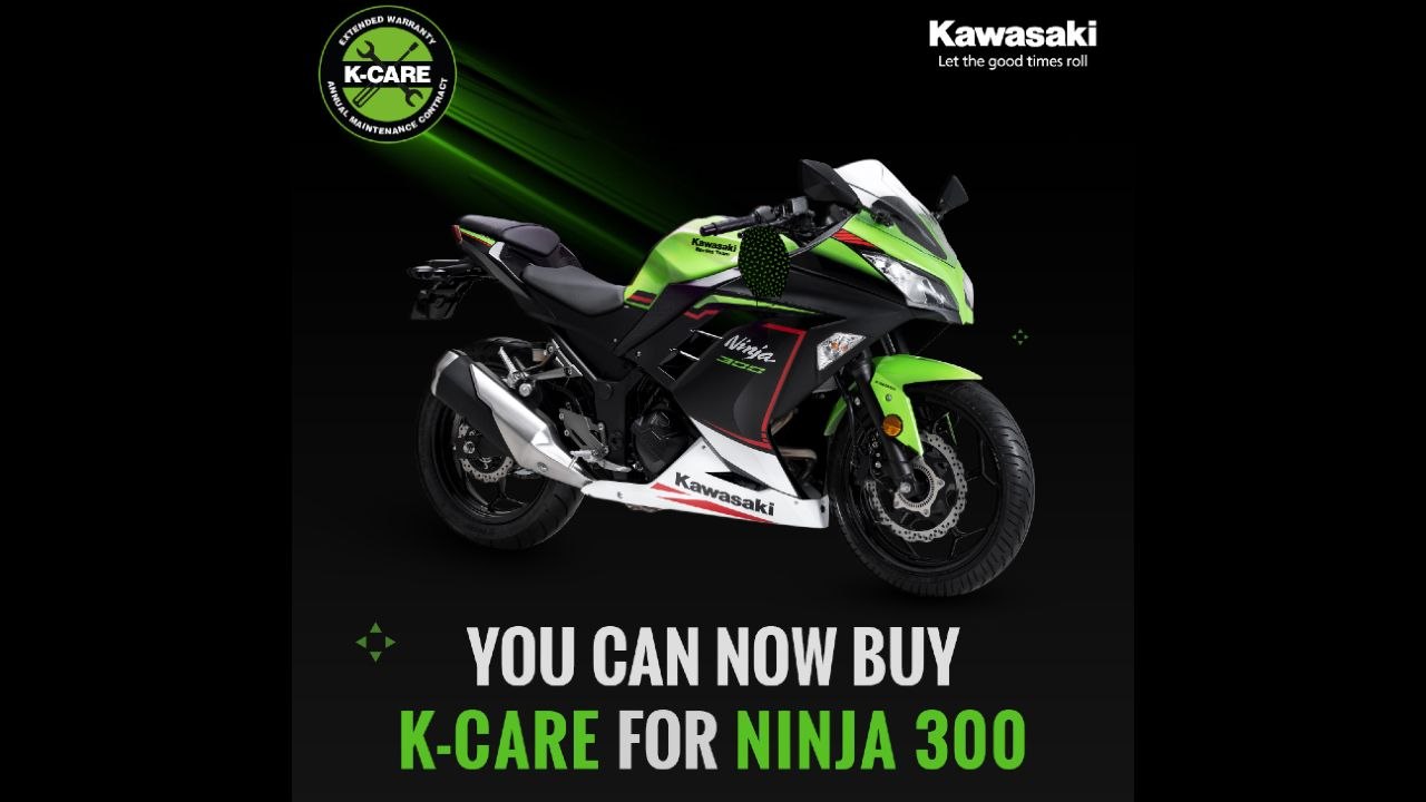 Kawasaki Ninja 300 Gets The K Care Package