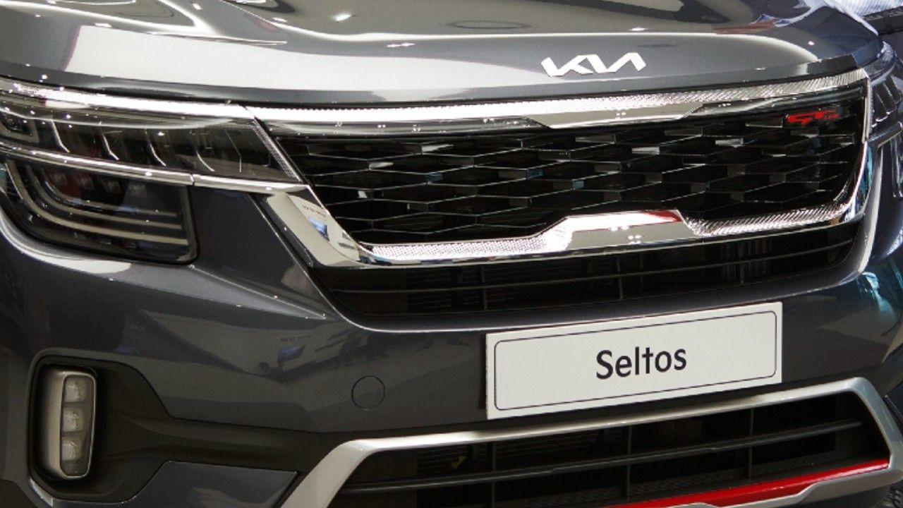 Kia India Seltos With New Logo