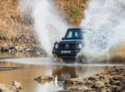 Mercedes Benz G 350d Water Splash Shot
