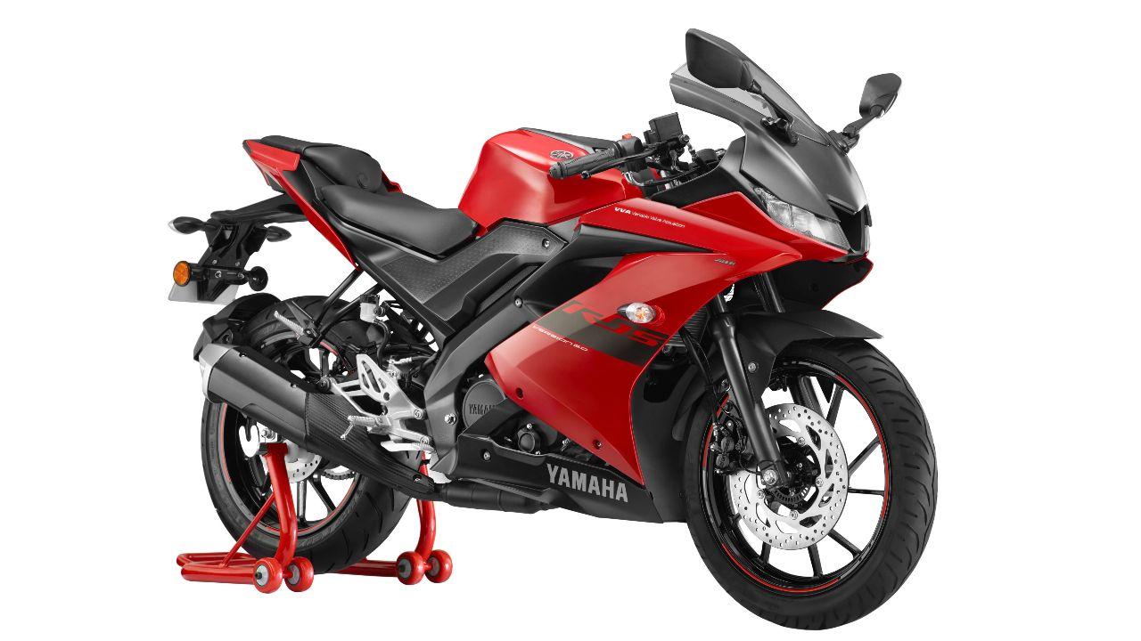 Yamaha YZF R15 V3 Red 2021