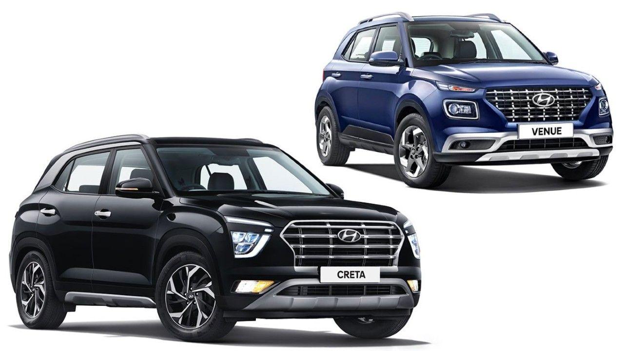 Hyundai Creta Venue 1 Million Suv Milestone