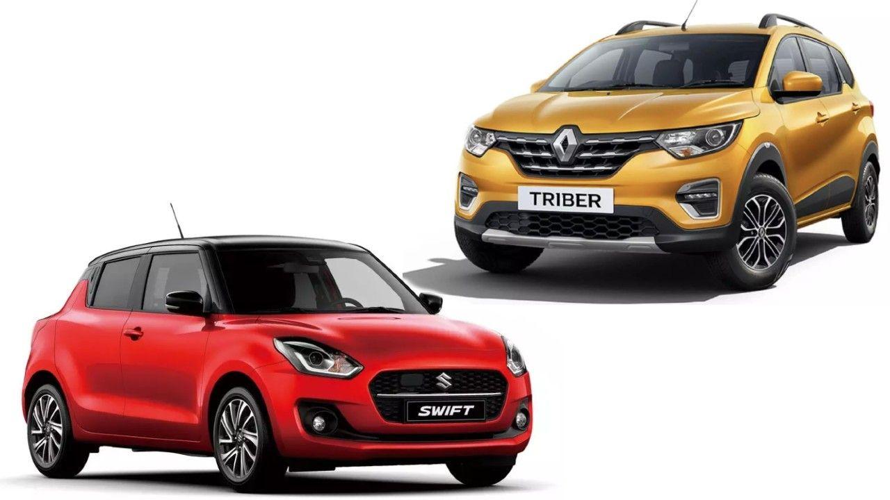Maruti Suzuki Swift Renault Triber India