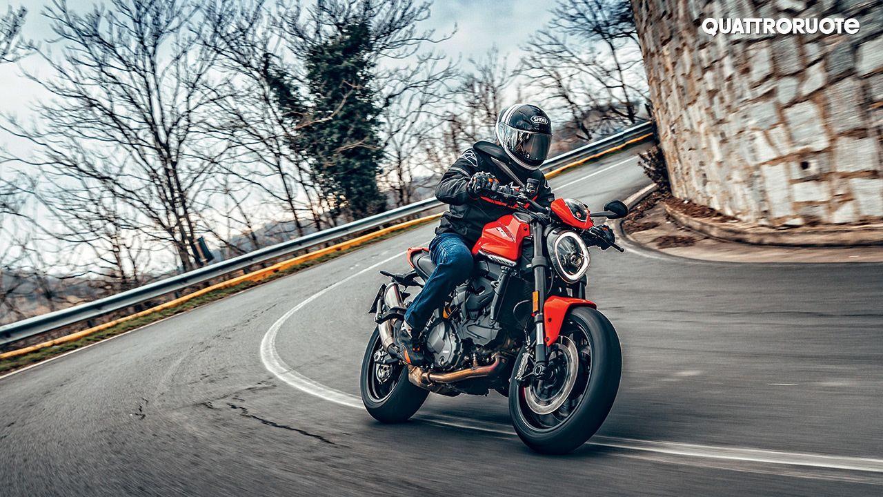 2021 Ducati Monster Front Three Quarter Motion