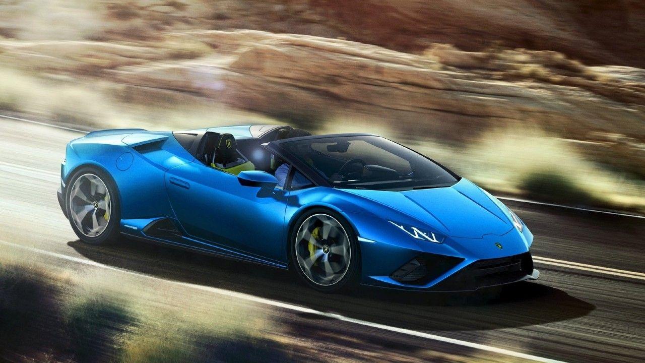 2021 Lamborghini Huracan Evo RWD Spyder India Launch Soon Front Action