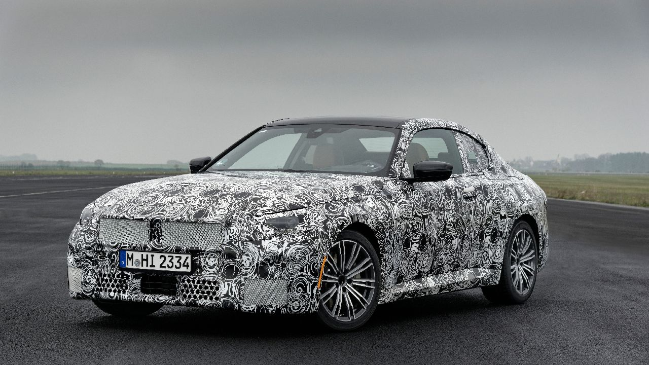 2022 BMW 2 Series Coupe Teased