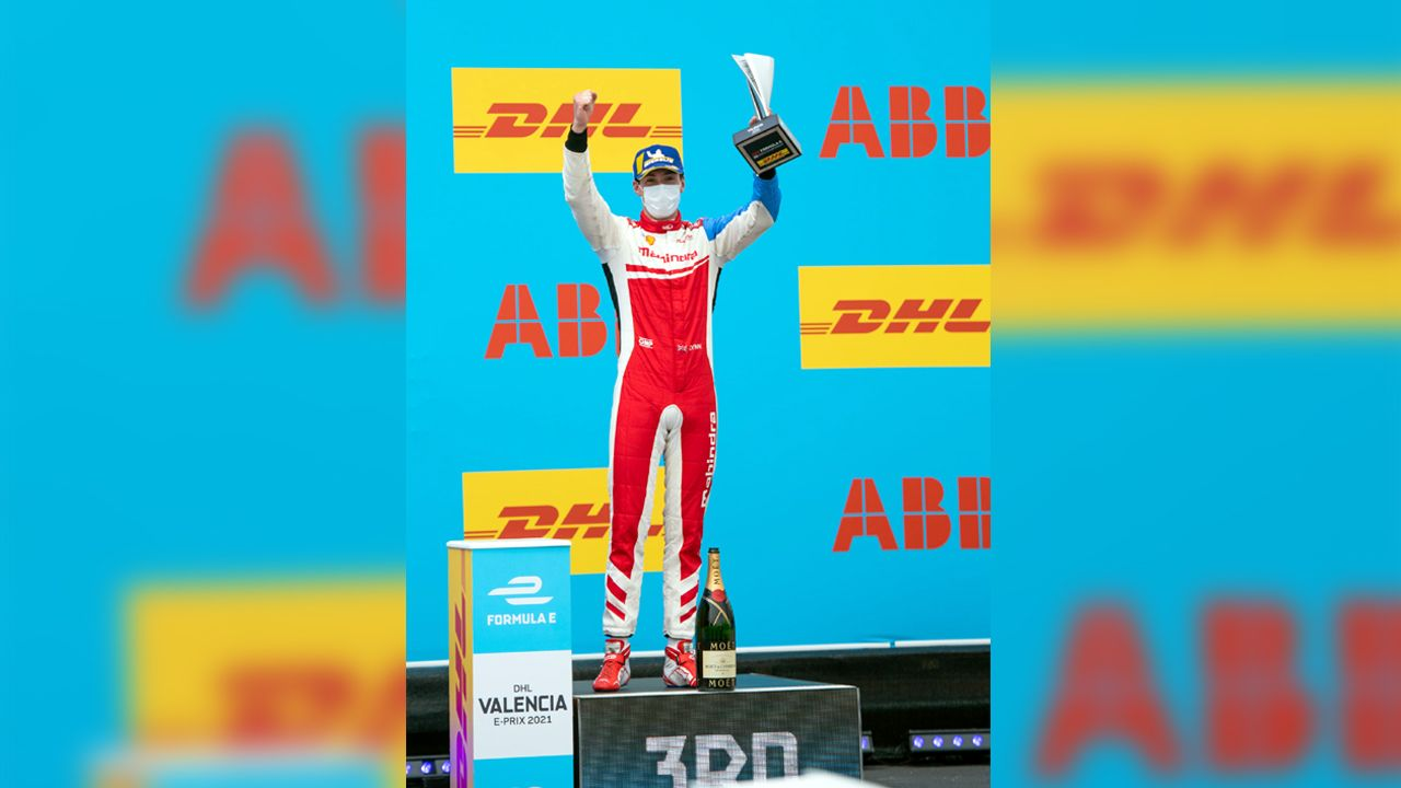 Alex Lynn 2021 Formula E Valencia EPrix