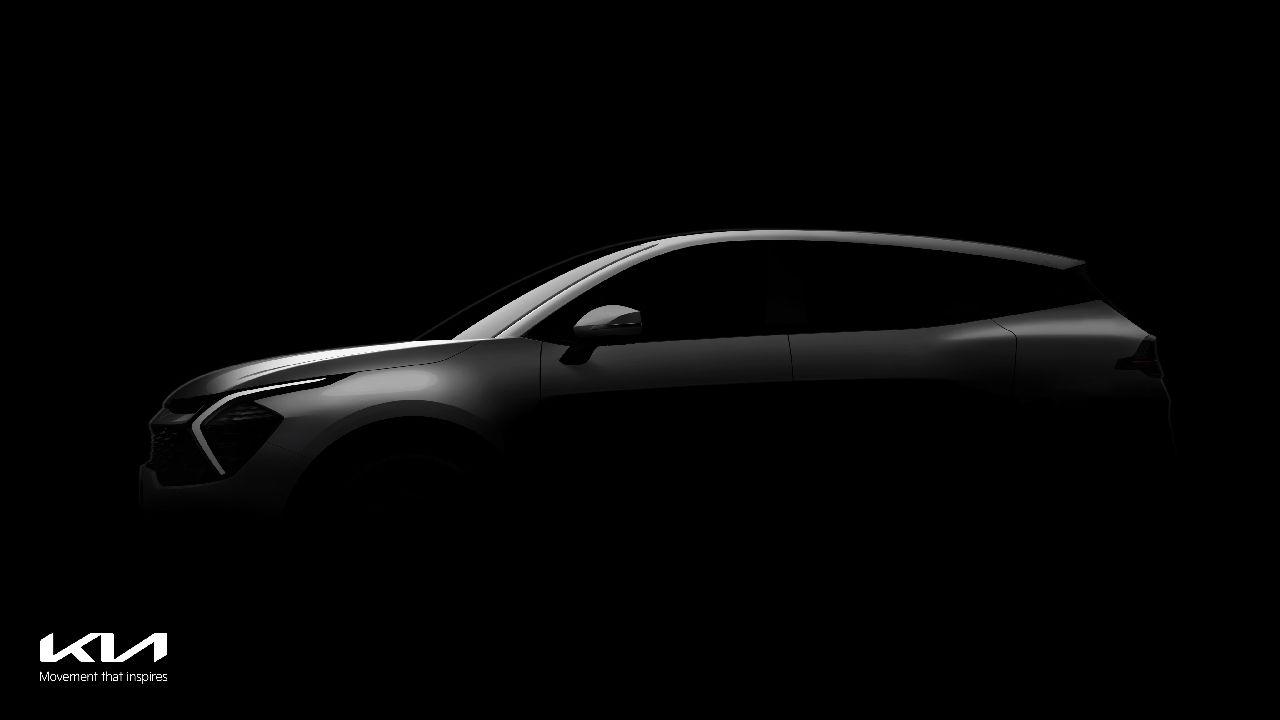 All New Kia Sportage SUV Teased Ahead Of July Debut