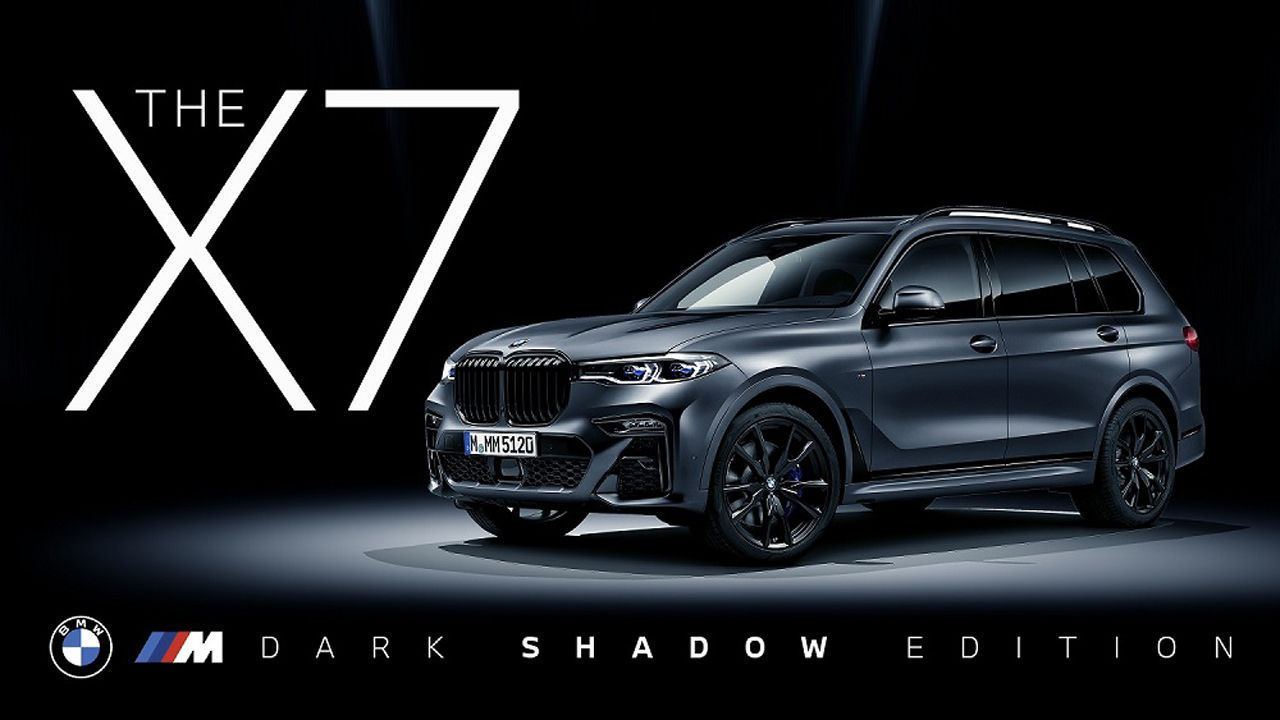BMW X7 M50d Dark Shadow Edition Launched In India