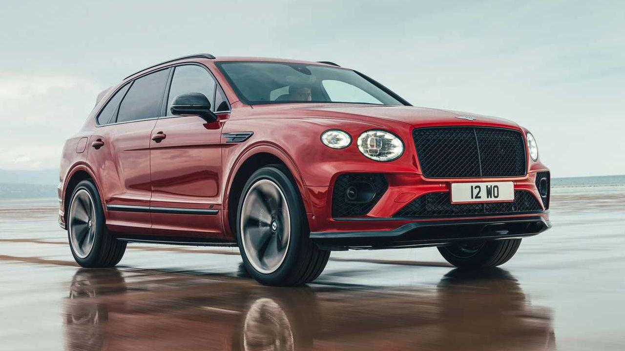 Bentley Bentayga S Unveiled