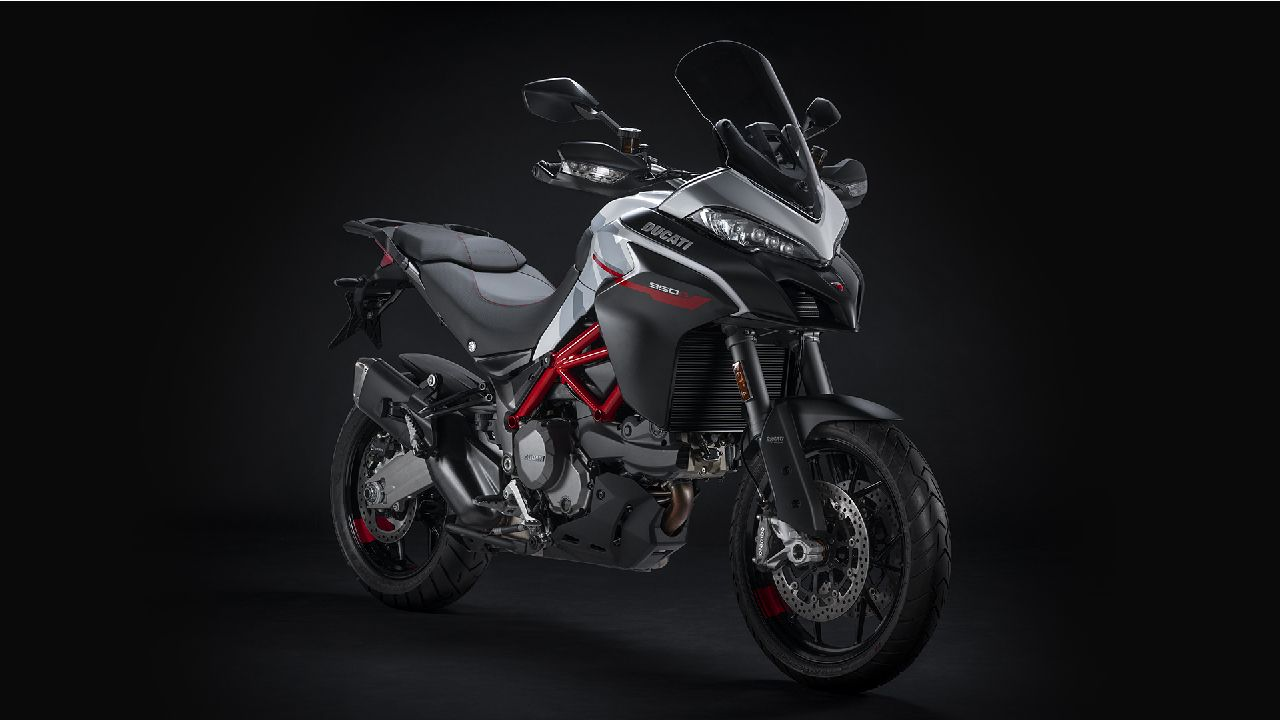 Ducati Multistrada 950 S Launched With GP White Livery