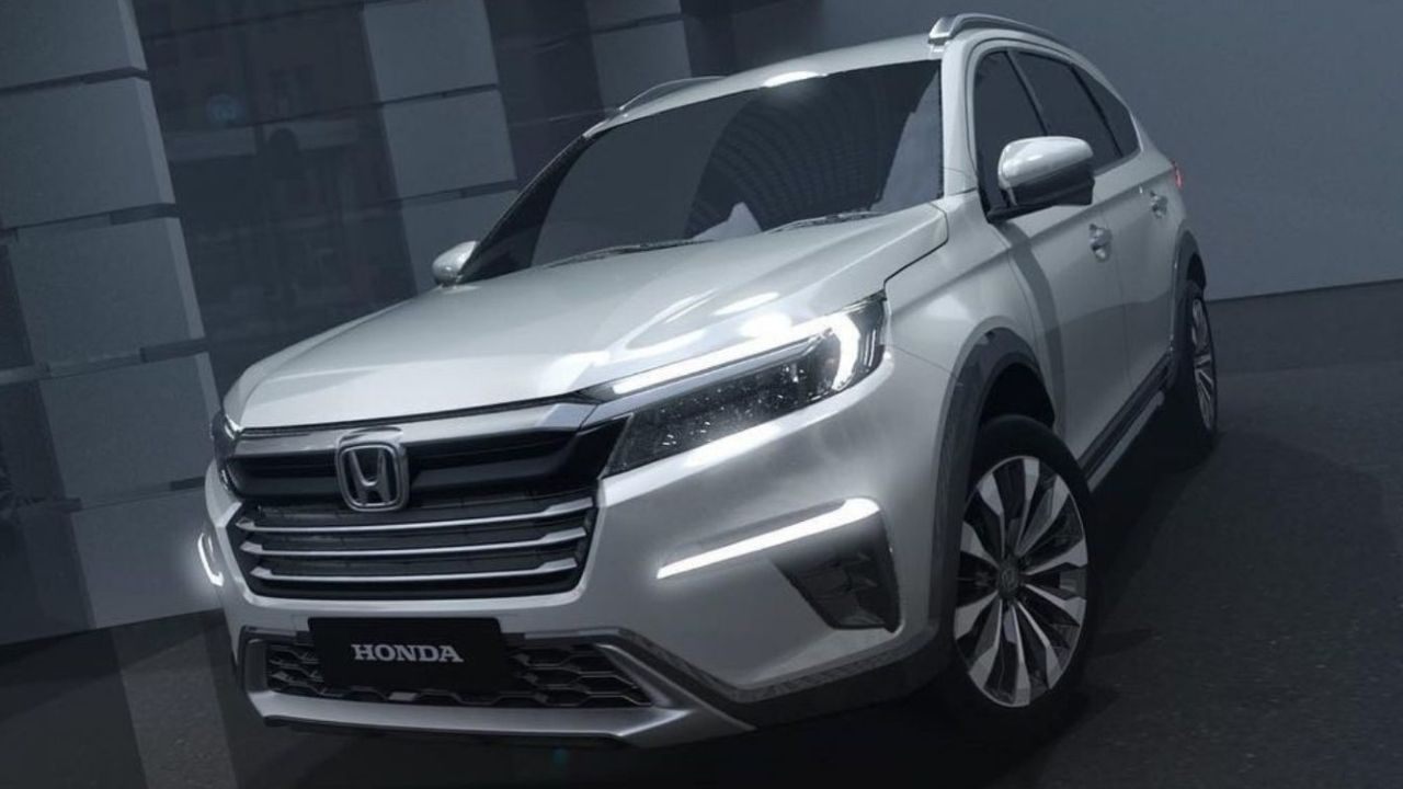 Honda N7X Seven Seater Concept SUV Breaks Cover