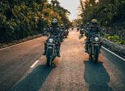 Honda Sunchasers Arunachal Ride honda hness cb350 convoy