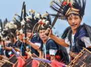 Honda Sunchasers Arunachal Ride tapu war dance