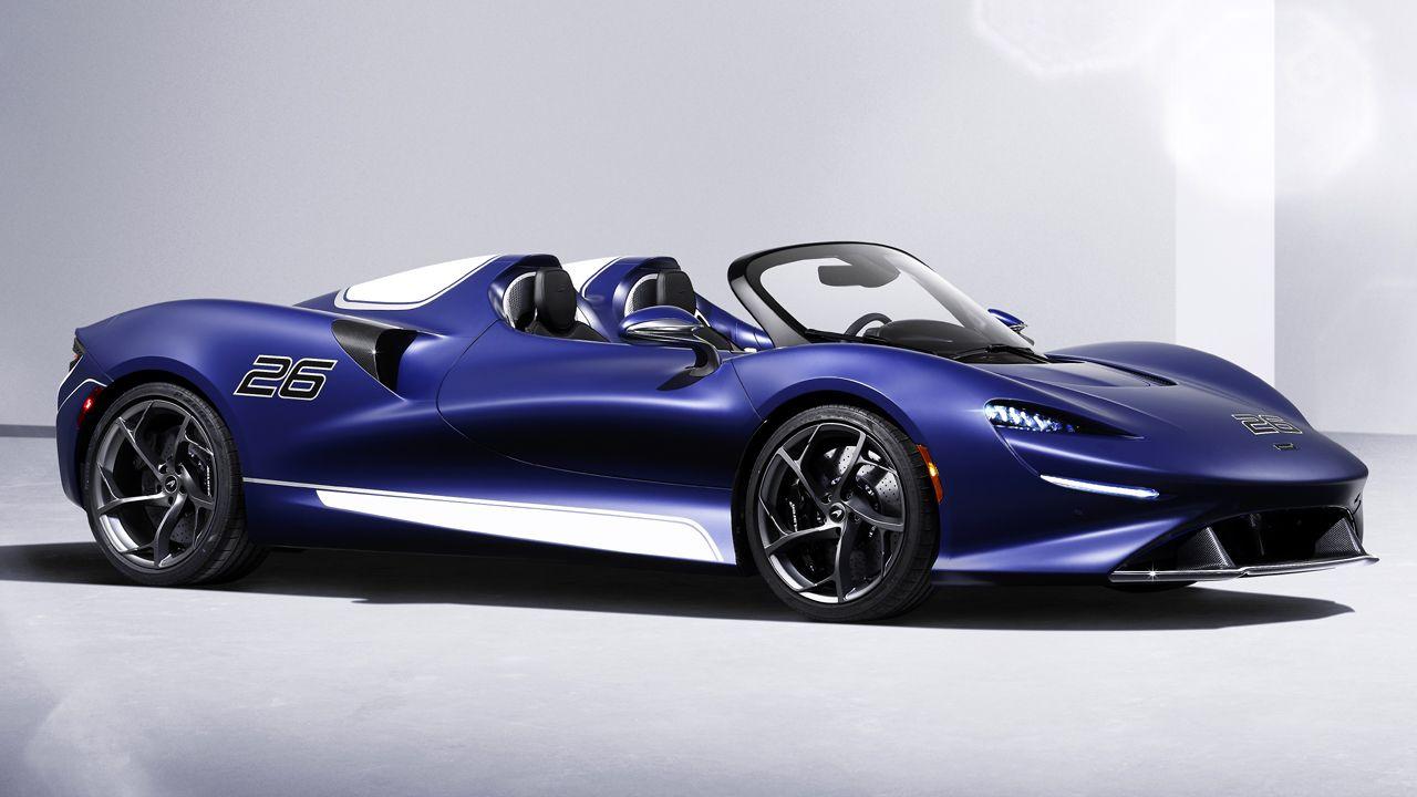 McLaren Elva Windscreen Version