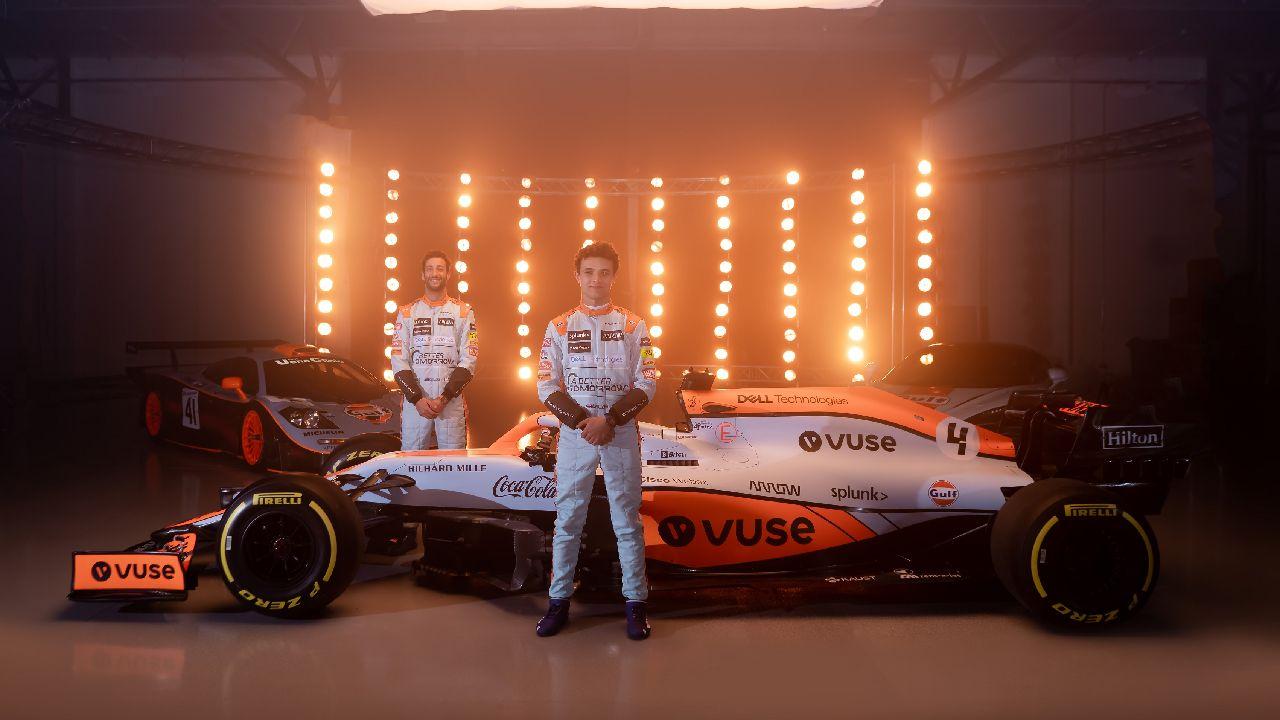 McLaren Showcases One Off Gulf Livery For Monaco GP