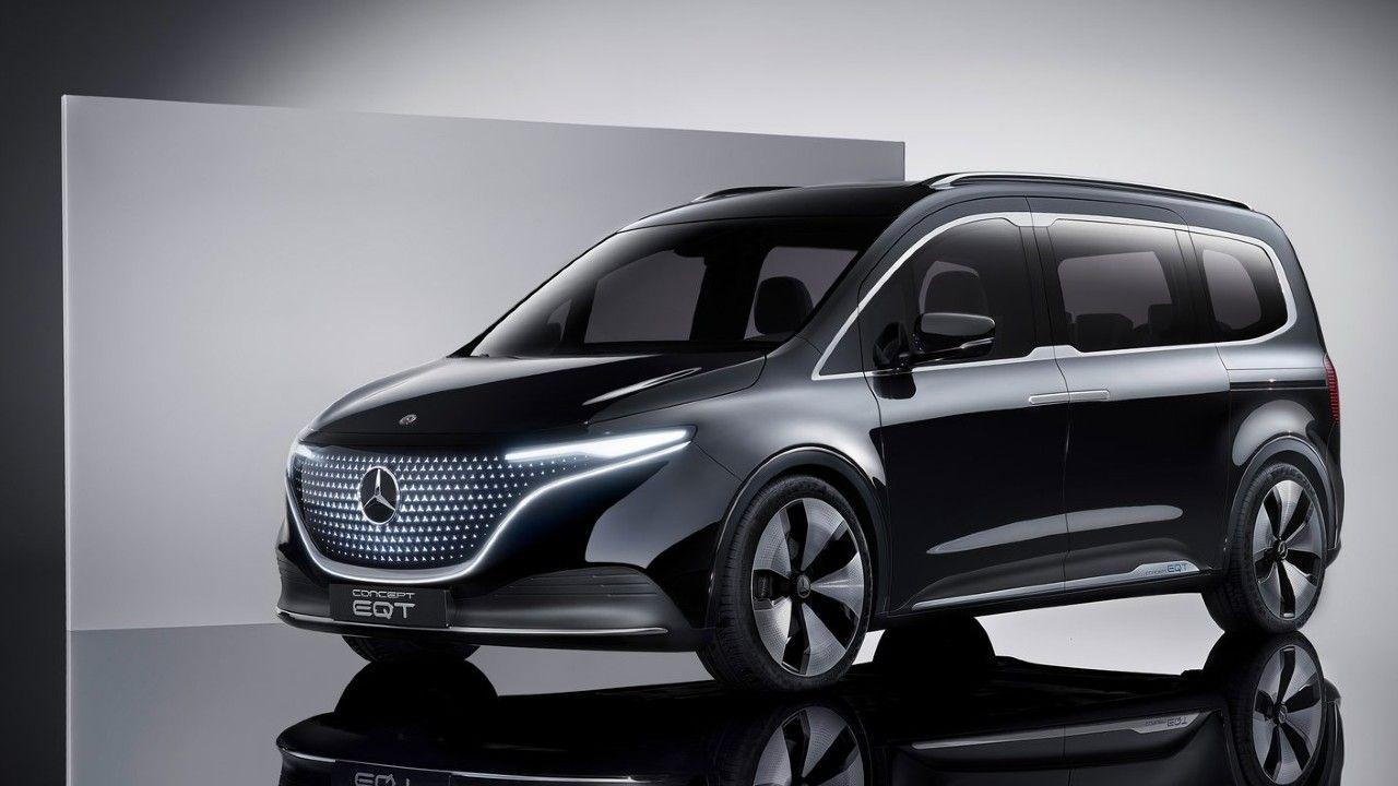 Mercedes Benz Concept EQT 2021 Showcased Exterior