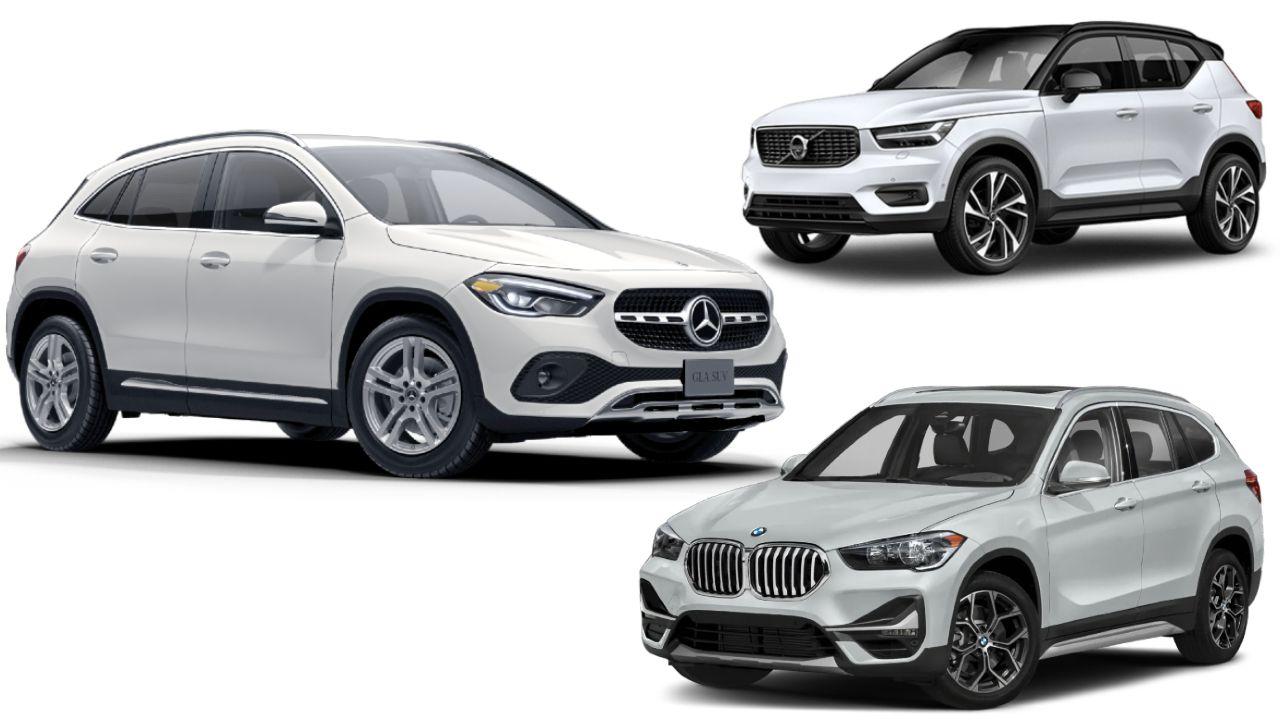 Mercedes Benz GLA Vs BMW X1 Vs Volvo XC40 Spec Comparison