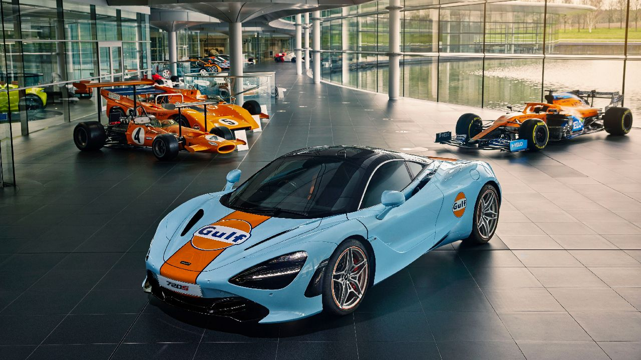 One Off McLaren 720S Hand Painted Gulf Livery Revealed
