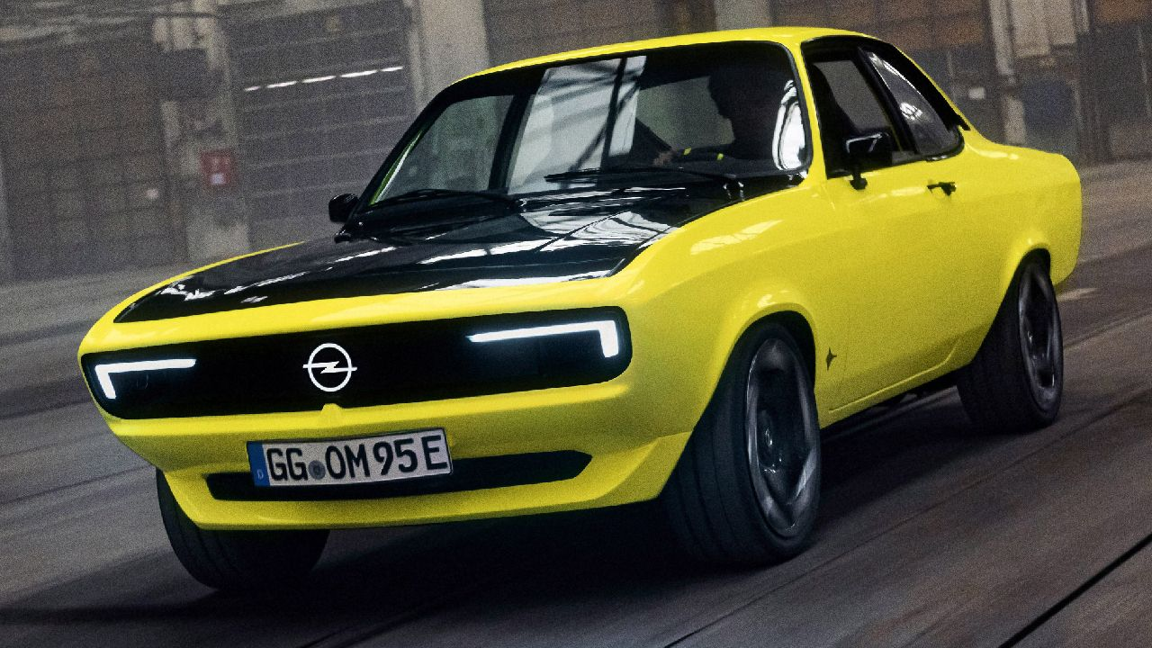 Opel Manta GSe ElektroMOD Concept Showcased