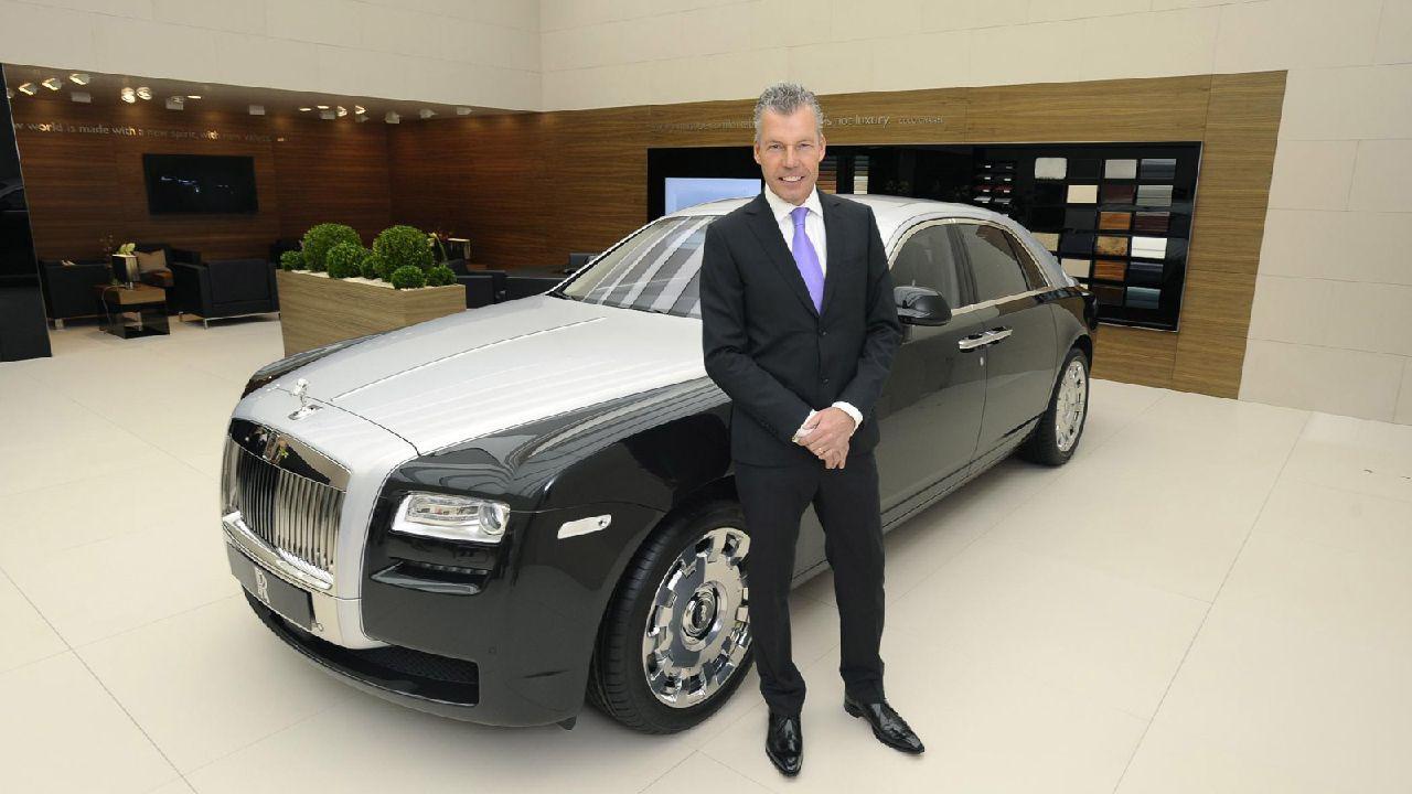 Rolls Royce CEO Torsten M Ller Tv S