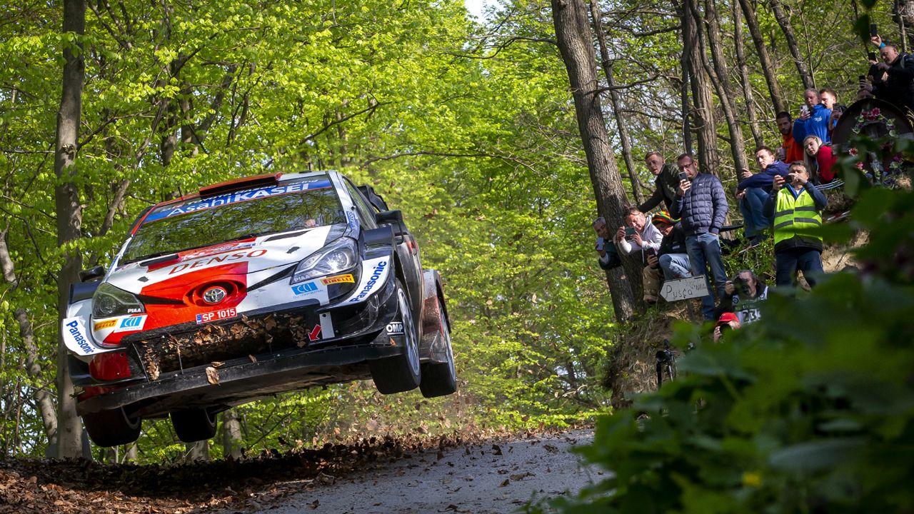 Sebastien Ogier WRC 2021 Croatia Rally