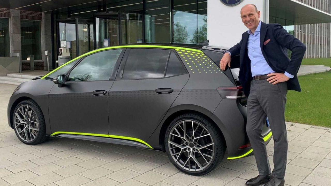 Volkswagen ID X Hot Hatch Concept Revealed