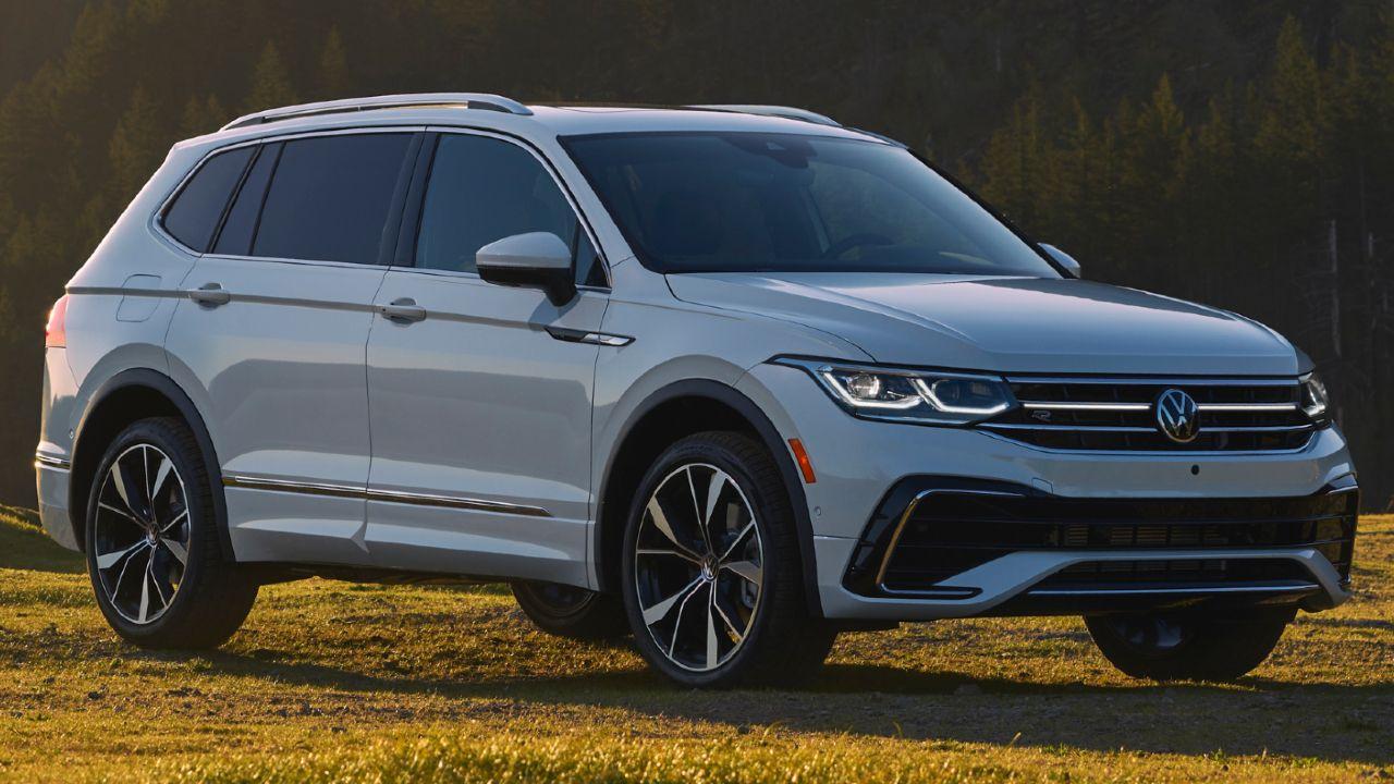 Volkswagen Tiguan Allspace Facelift Revealed