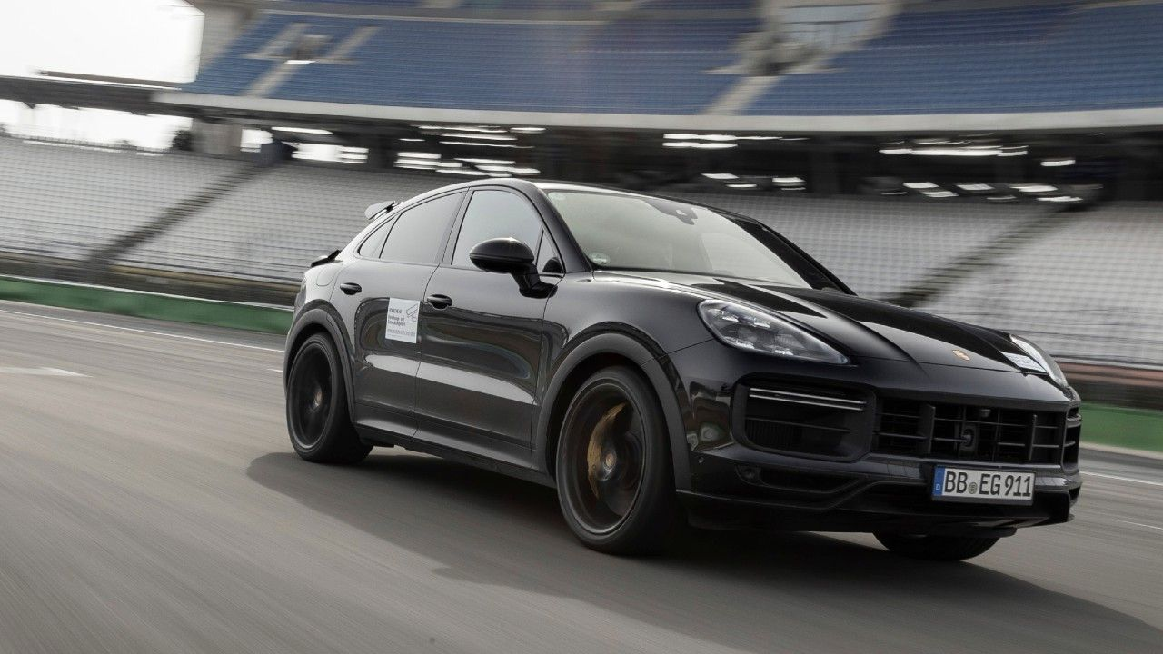 High Performance Porsche Cayenne Coupe Launching Soon