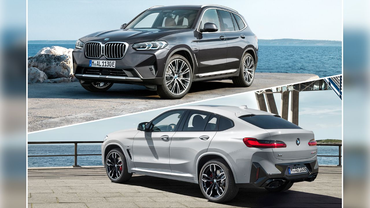 2021 BMW X3 And X4