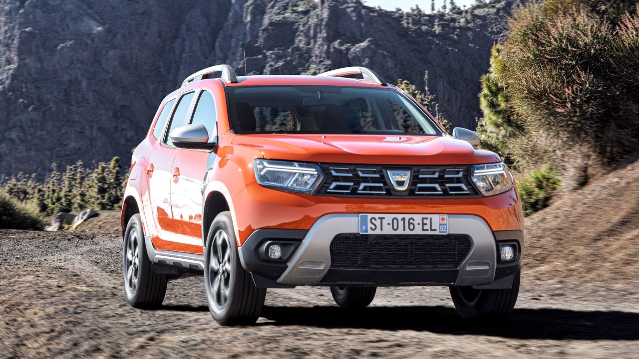 2021 Dacia Duster Facelift Front Static