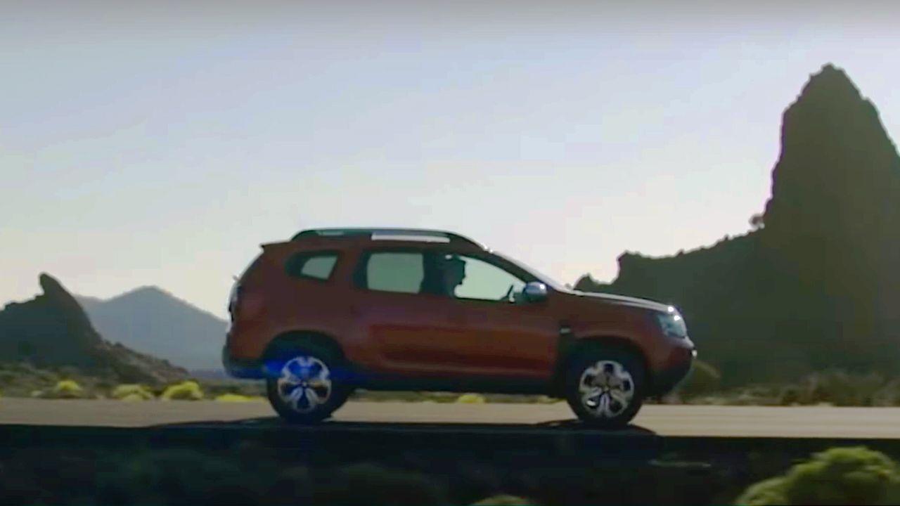 2021 Dacia Duster Teaser