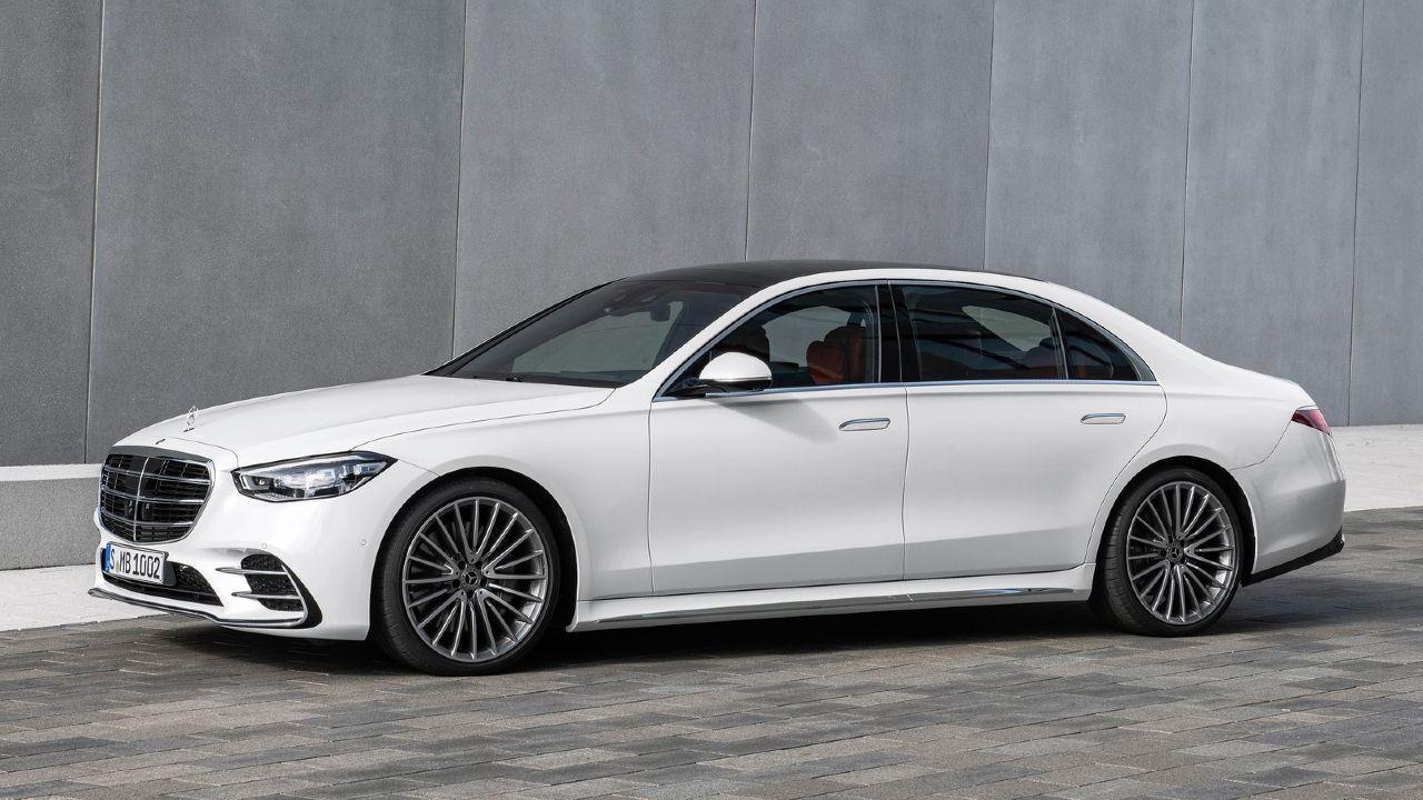 2021 Mercedes Benz S Class Static Three Quarter