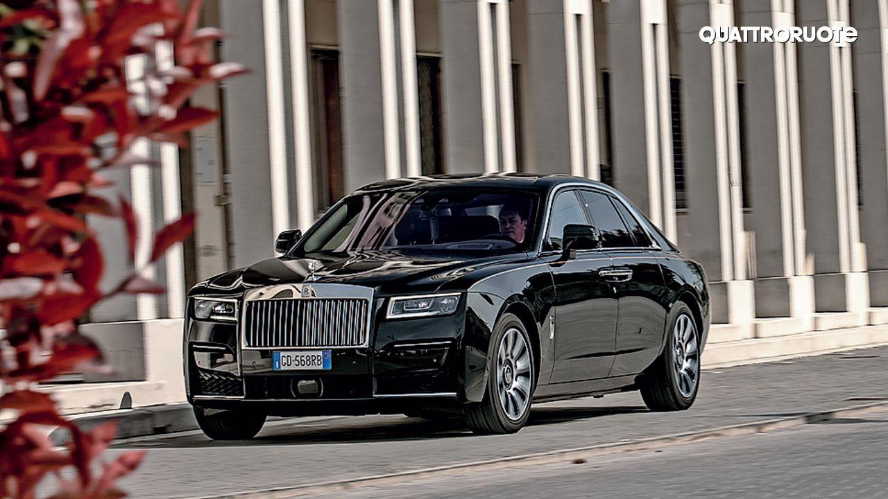 2021 Rolls Royce Ghost Quattroruote Motion Shot