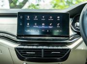 2021 skoda octavia 4th gen india static detail touchscreen infotainment1