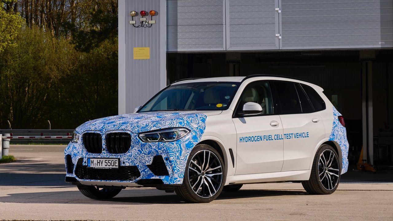 BMW X5 Hydrogen Fuel Cell Three Quarter Static