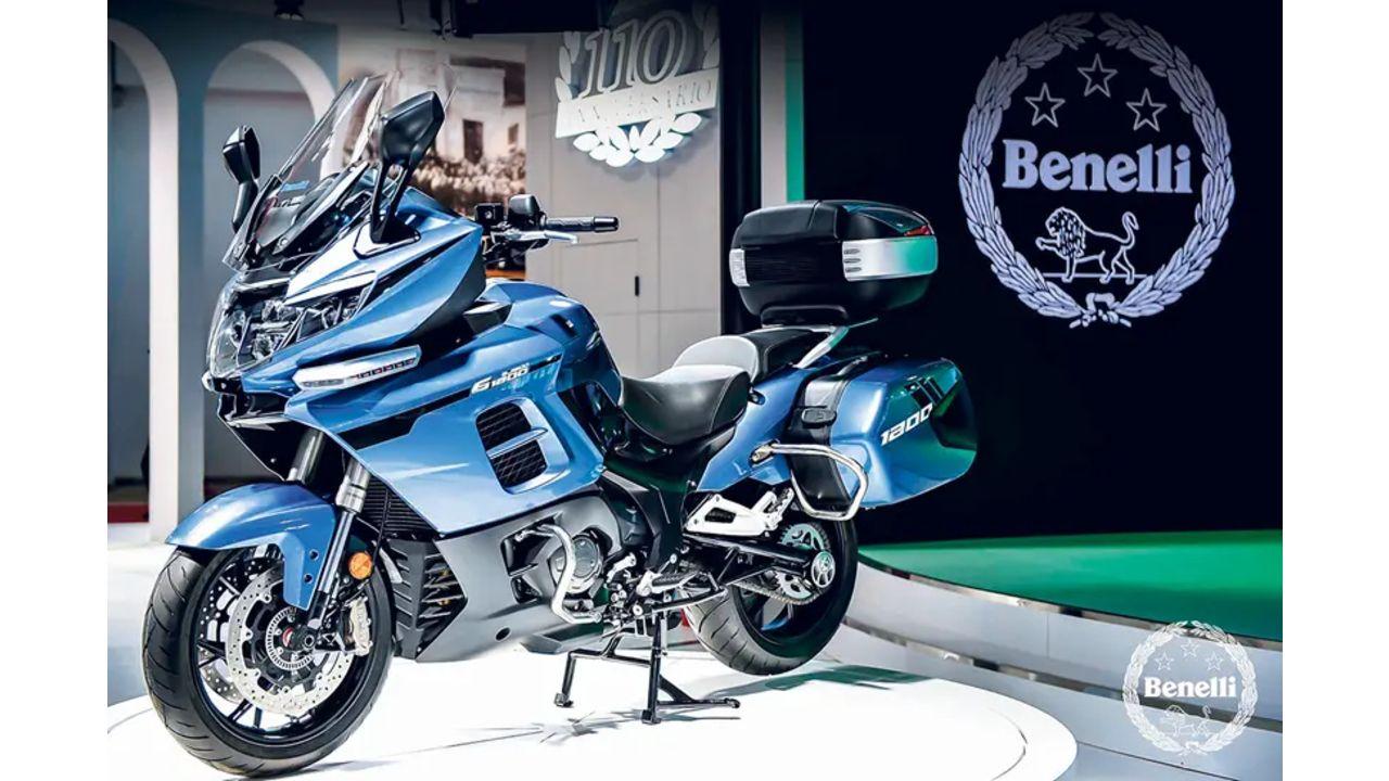 Benelli 1200GT Front Three Quarter
